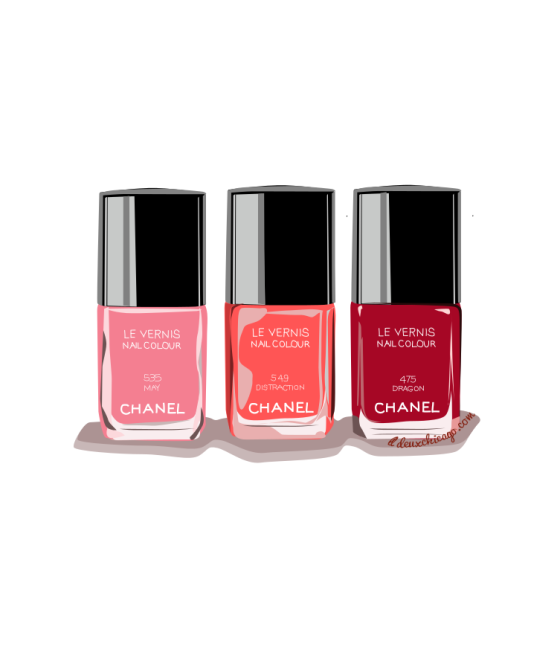 DeuxChicago Chanel Nail Polish