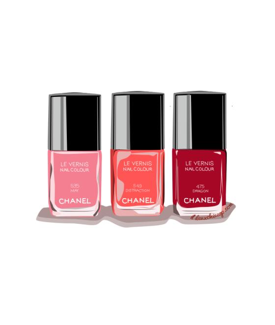 DeuxChicago Chanel Nail Polish
