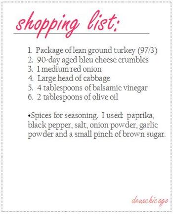 ShoppingList_TurkeyBurger