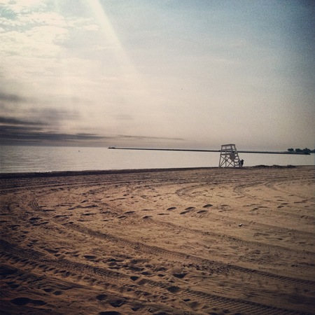 Chicago Oak Street Beach Picture