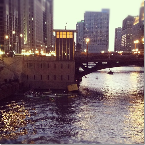 Chicago River Kayak
