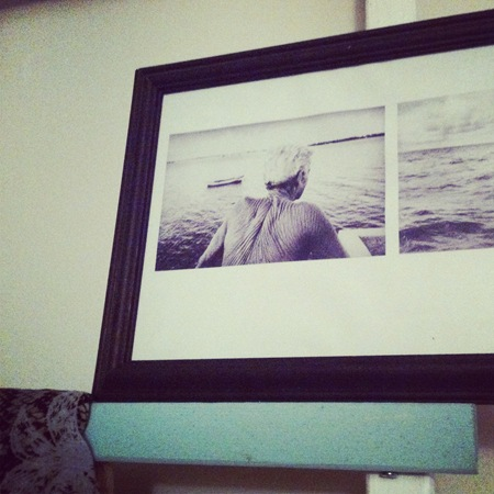Man in the Sea Photo