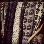 Skull scarves everywhere