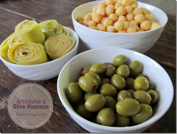 Artichoke and Olive Hummus