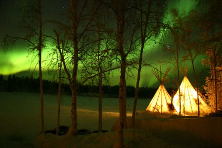 Northern Lights Teepees Yellowknife 4 | Deux Chicago